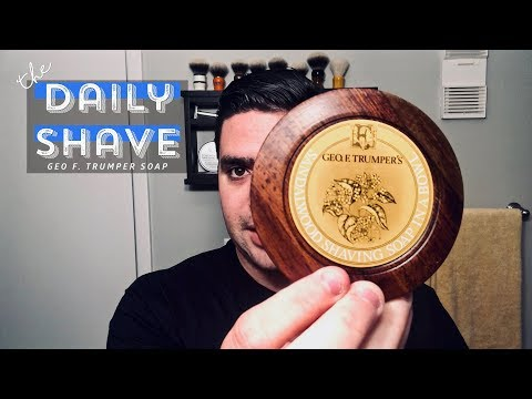 Geo F  Trumper Sandalwood Shaving Soap | The Daily Shave
