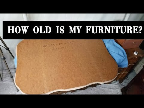 How To Date Furniture By Checking The Mirror