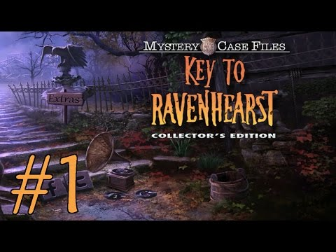 Mystery Case Files: Key To Ravenhearst Walkthrough Part 1