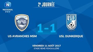 Avranches vs Dunkerque full match