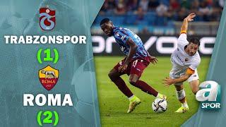 Trabzonspor 1-2 Roma MAÇ ÖZETİ (UEFA Avrupa Konferans Ligi Play Off)
