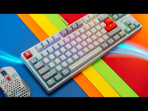 Get Your Retro Game On!  XTRFY K4 Gaming Keyboard Review