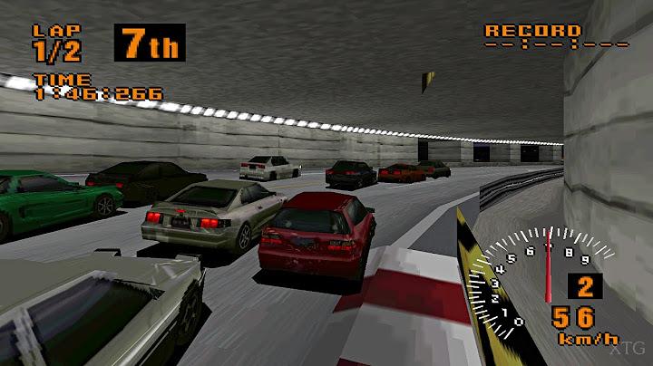 gran turismo test drive demo ps1 gameplay hd