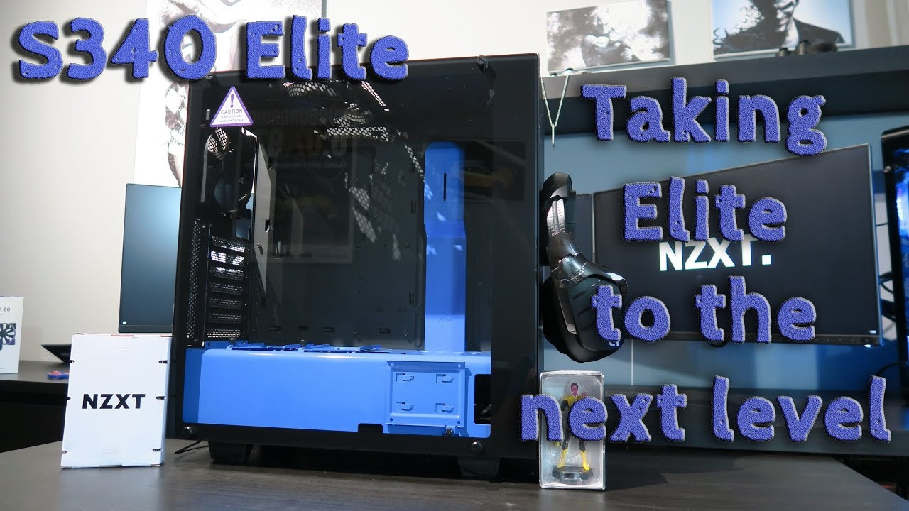 Nzxt S340 Elite Unboxing Review Youtube