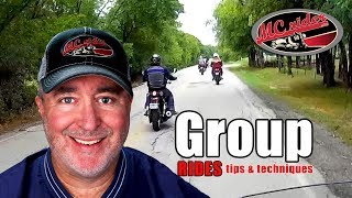 Group riding tips and techniques