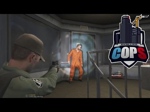 Prison Break! - #11 DOJ Cops GTA V (Feat. Polecat324, BayAreaBuggs & Jeff Favignano)