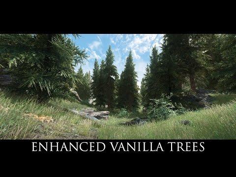 Enhanced Vanilla Trees SE at Skyrim Special Edition Nexus