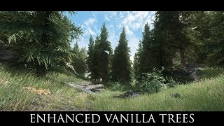 TES V - Skyrim Mods: Enhanced Vanilla Trees