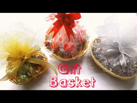 How to make Chocolate Gift Basket/ DIY Gift Basket/Easy and Simple Chocolate Gift Basket at Home.