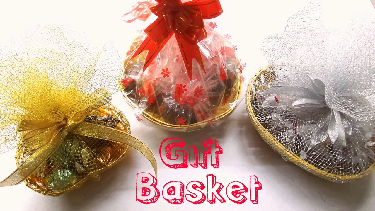 How To Make Chocolate Gift Basket/ DIY Gift Basket/Easy