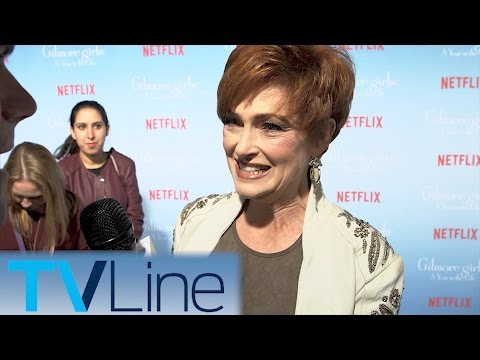 Carolyn Hennesy  |  Gilmore Girls Red Carpet Premiere Interview  |  TVLIne