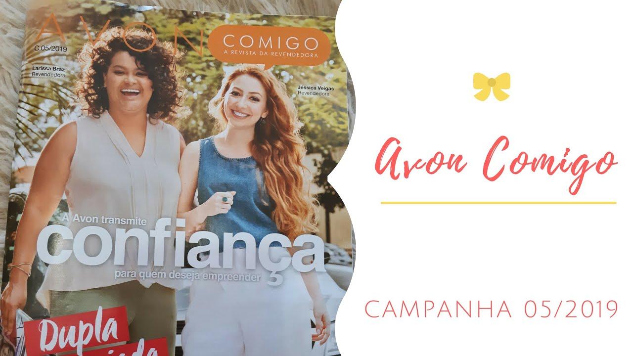 AVON COMIGO CAMPANHA 05/2019 | REVENDEDOR #1