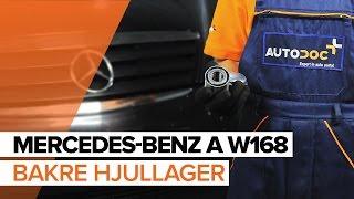 MERCEDES-BENZ A-Klasse-videoveiledninger og reparasjonshåndbøker – hold bilen din i toppform