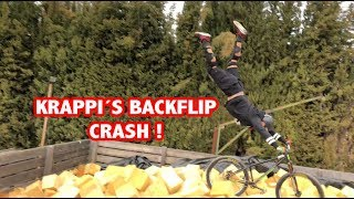 KRAPPI´S BACKFLIP CRASH IN FRANCE Pt 1 | VLOG #53