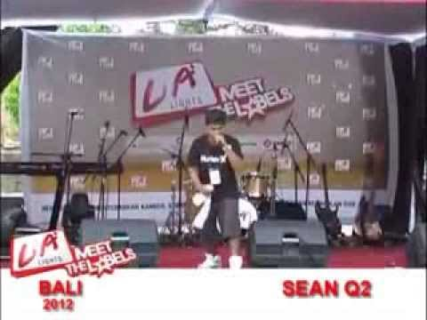 sean q2   - Harus q Akui (LA CONCERT MEET THE LABEL LIVE IN  BALI )