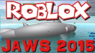 Roblox- Jaws 2015! (Family Play)
