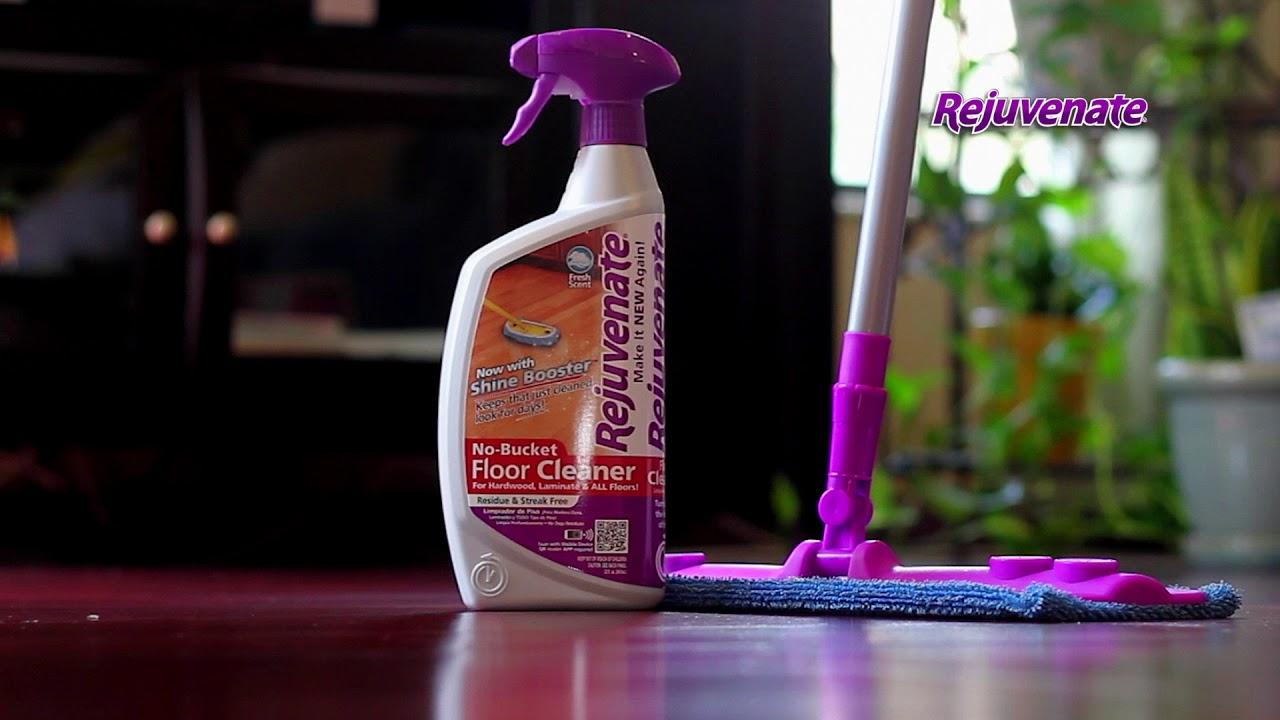 Rejuvenate Hardwood Amp Laminate Floor Care System Mop Kit
