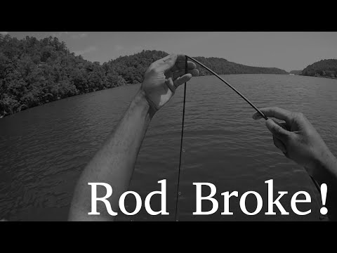 Rod Broke! Web Rant: Why I Hate Graphite Rods.