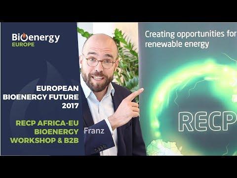 European Bioenergy Future: RECP Africa-EU Bioenergy Workshop & B2B