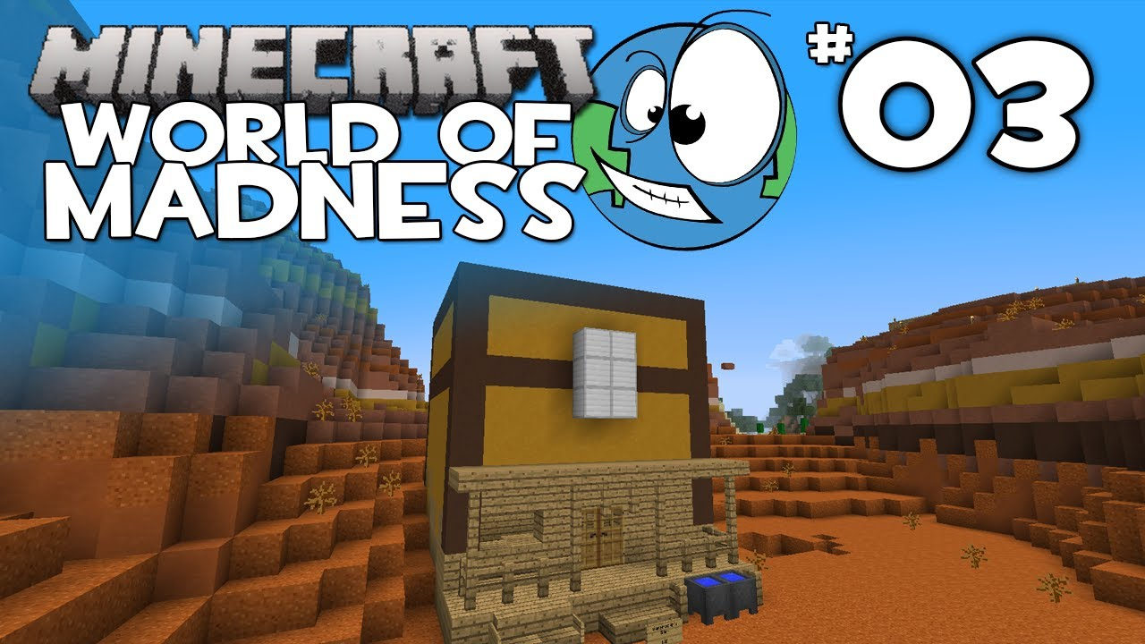 Minecraft: World of Madness Episode 3: A Giant Chest