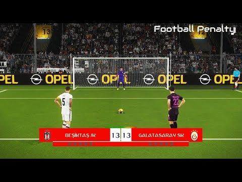 Besiktas vs Galatasaray | Penalty Shootout | PES 2018 Gameplay PC