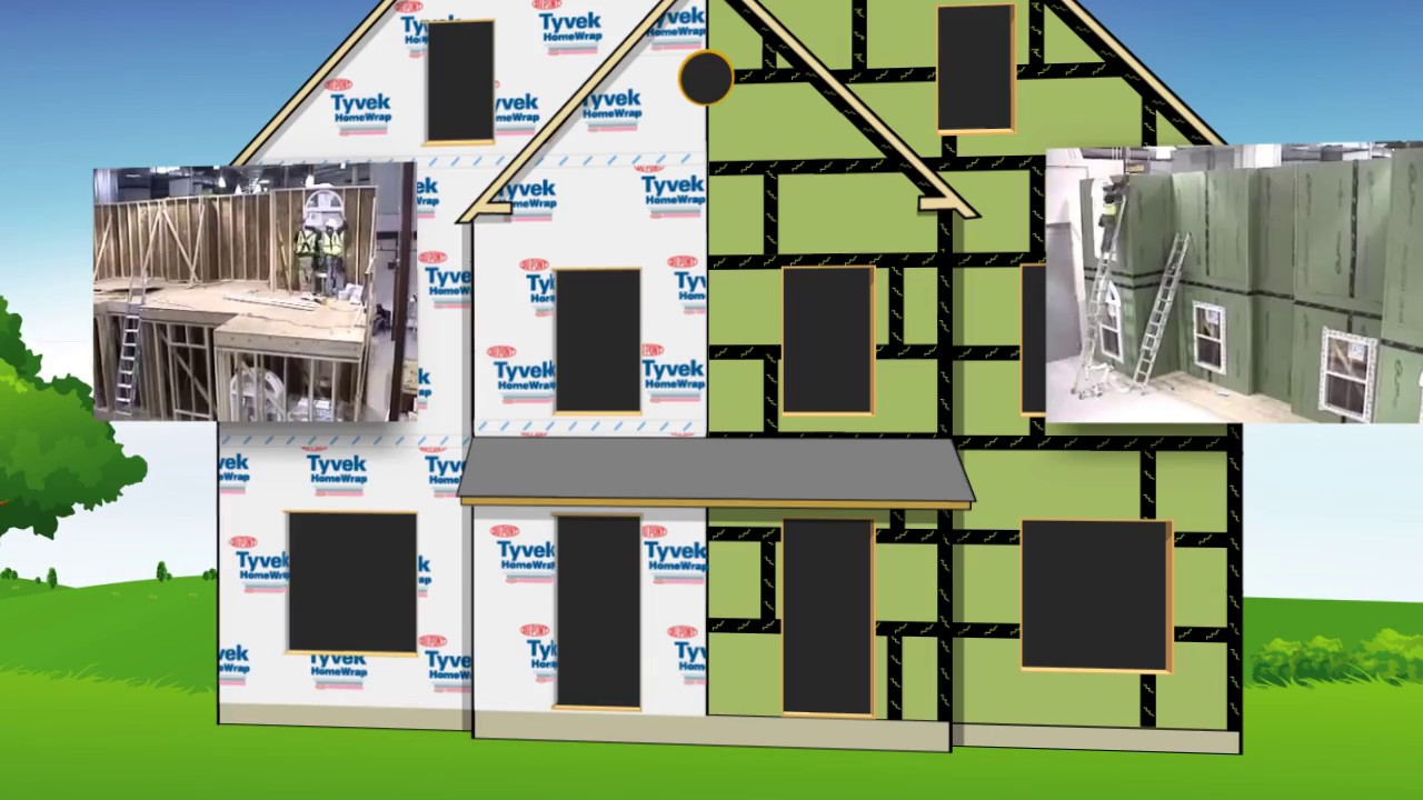 Zip System Installs 40 Faster Than Tyvek See The Truth