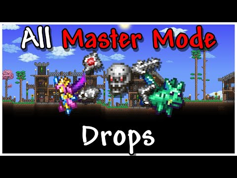 Terraria All Master Mode Boss Pets And Mounts Youtube