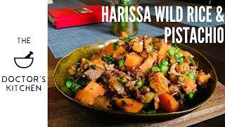 Harissa Wild rice with roasted Pistachio!