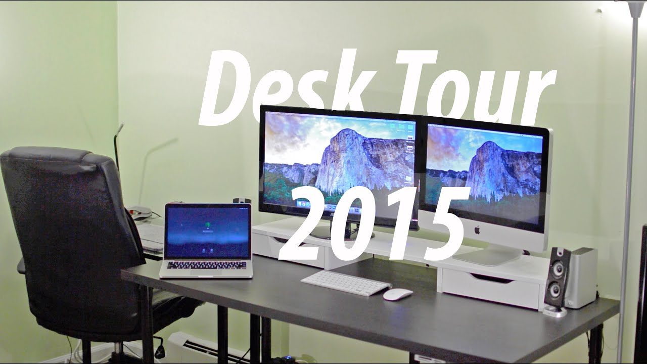 Ultimate Tech Desk Setup 2015 Youtube