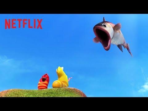 Fish On Fire! 🔥 Larva Island | Netflix Futures