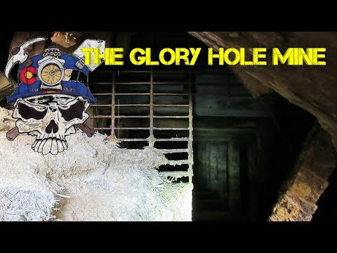 Glory Hole mine, other mining buildings