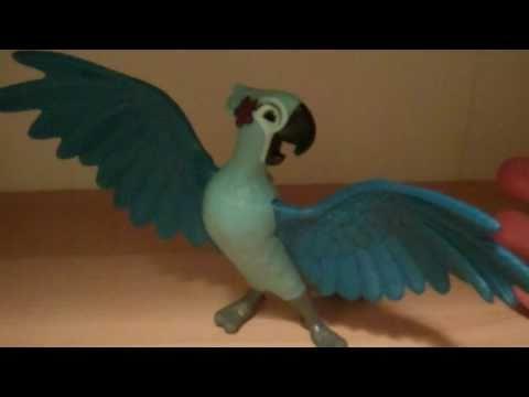 Rio Movie Mcdonalds Jewel Toy Review