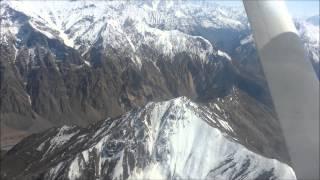 ВАНЧ-ДУШАНБЕ. Полет над Памир.  Апрель 2014г.