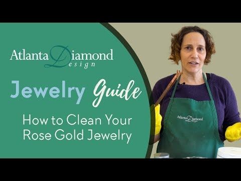 How to Clean Your Rose Gold Jewelry