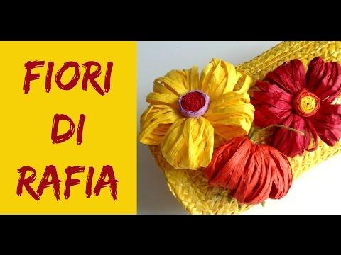 Come fare Fiori di Rafia/ How to make Raffia Flowers (Riciclo/D.I.Y.) Arte per Te