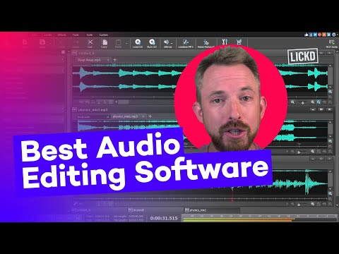 Best Audio Editing Software For YouTube Videos 2020 | Lickd Tutorials