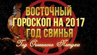 Восточный гороскоп на 2017 СВИНЬЯ