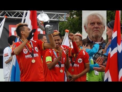 PIET KEIZER & INDONESIAN TAKE THE HOMELESS WORLD CUP 2015
