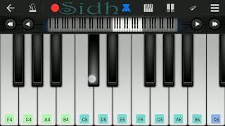 Tu Hi Tu (Kick) - Neeti Mohan song easy piano tutorial by Siddarth