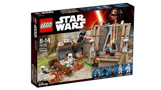 LEGO Star Wars 2016 Battle on Takodana set pictures! New Kylo Ren minfigure!