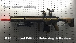 G28 Limited Edition Airsoft Rifle Unboxing and Review