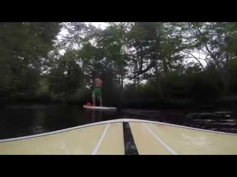 Stand Up Paddling SUP in Cedar Creek Ocean County New Jersey Berkeley Township