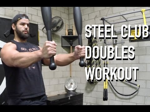Steel Club Doubles Workout