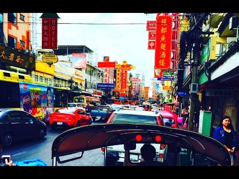 How to go to Chinatown Bangkok  Hua Lamphong to Yaowarat Road
