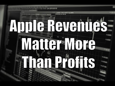 Why Apple's Revenue Matters More Than Profits
