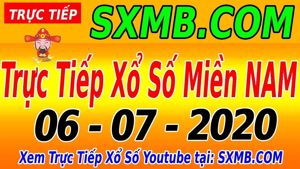 XSMN TRỰC TIẾP XỔ SỐ MIỀN NAM HÔM NAY THỨ 2 NGÀY 06/07/2020, KQXS MIEN NAM