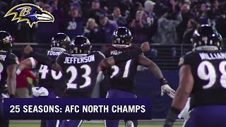 25 Seasons: Ravens Win the AFC North on Final Play