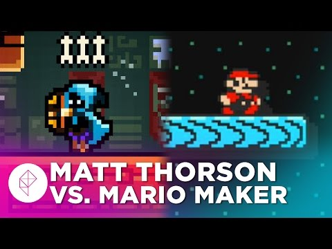 Towerfall's Creator Plays Super Mario Maker — Devs Make Mario