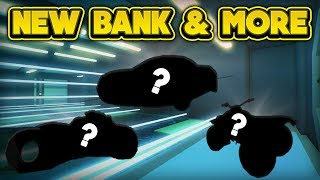 NEW BANK & MORE NEXT UPDATE! (ROBLOX Jailbreak)