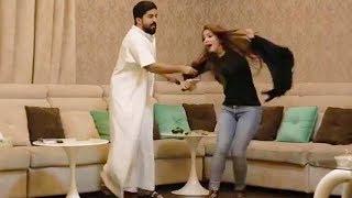 عفريتو ينجلد من زوجته!! 😱